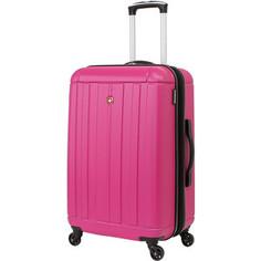 Чемодан Wenger Uster, розовый, 41x26x58 см, 62 л, шт