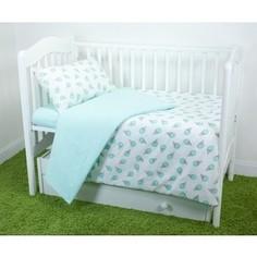 Комплект постельного белья для малышей Magic City Фисташковый десерт КПБМР-ББ-006