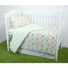 Комплект постельного белья для малышей Magic City Лесные зарисовки КПБМР-ББ-010