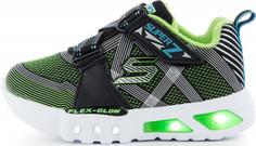 Кроссовки для мальчиков Skechers Flex-Glow-Nite Lite, размер 25,5