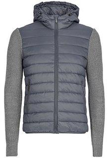 Комбинированная куртка на искусственном пуху Urban Fashion for men