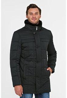 Утепленная куртка с отделкой мехом кролика Vittorio Emanuele