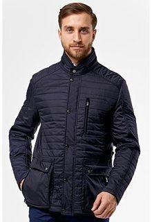 Утепленная куртка с отделкой искусственной замшей Madzerini