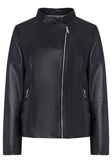 Куртка из натуральной кожи LE Monique