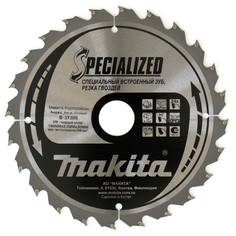 Диск Makita B-31289 пильный по дереву с гвоздями, 190x30mm, 24 зуба