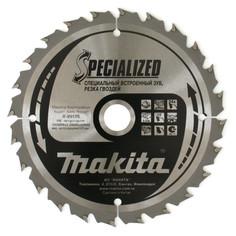 Диск Makita B-29175 пильный по дереву с гвоздями, 165x20mm, 24 зуба