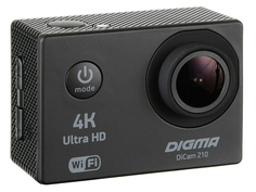 Экшн-камера Digma DiCam 210 Black