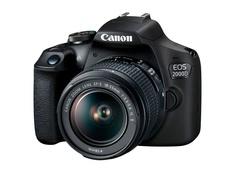 Фотоаппарат Canon EOS 2000D Kit EF-S 18-55 mm f/3.5-5.6 III Black