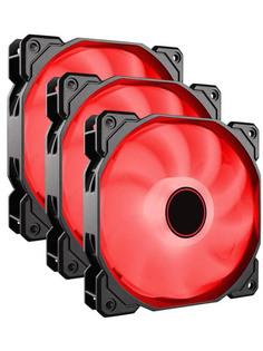 Вентилятор Corsair AF120 LED Red Triple Pack CO-9050083-WW