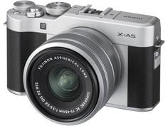 Фотоаппарат Fujifilm X-A5 Kit XC 15-45mm F/3.5-5.6 OIS PZ Silver