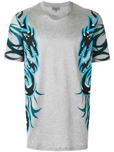 Lanvin футболка со стилизованными изображениями драконов