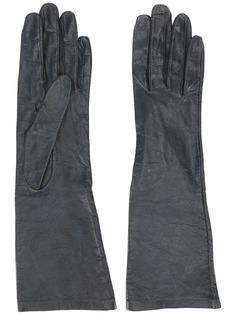 Yves Saint Laurent Pre-Owned перчатки средней длины