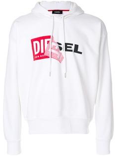Diesel худи с аппликацией слогана