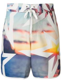 Perfect Moment шорты для плавания с принтом Super Mojo