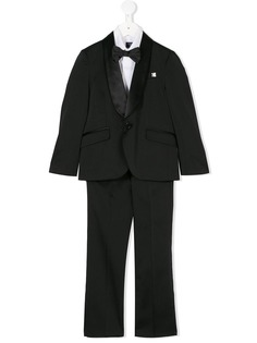 Carlo Pignatelli вечерний костюм-тройка с бабочкой