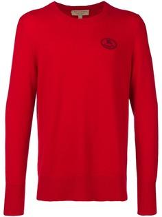 Burberry свитер с фирменным гербом