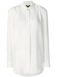 Alexander Wang рубашка с пуговицами на плечах