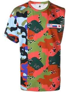 Gosha Rubchinskiy камуфляжная футболка