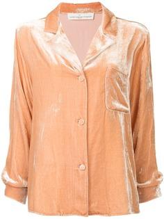 Golden Goose бархатная пижамная рубашка
