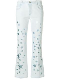 Stella McCartney узкие джинсы Stars
