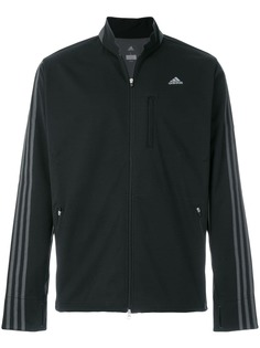 Adidas By Kolor спортивная куртка с полосками на рукавах