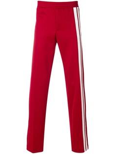 Valentino спортивные брюки с полосками по бокам