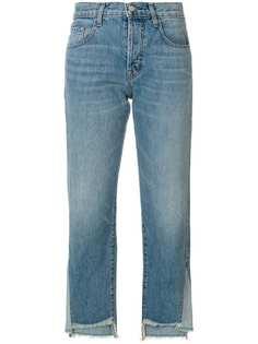J Brand укороченные асимметричные джинсы