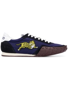 Kenzo кроссовки с принтом тигра