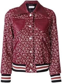 Coach куртка с фирменным цепочным узором