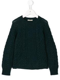 Bellerose Kids вязаный свитер с косами