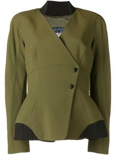 Thierry Mugler Pre-Owned облегающая куртка