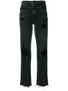 Alexander Wang состаренные джинсы