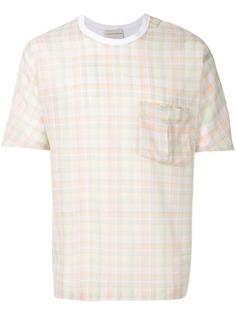 Stephan Schneider клетчатая футболка Cube