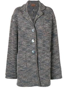 Missoni Pre-Owned вязаное пальто свободного кроя