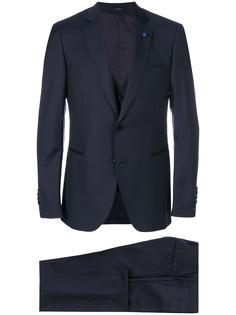 Lardini костюм-тройка классического кроя