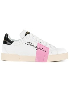 Dolce & Gabbana кроссовки с логотипом