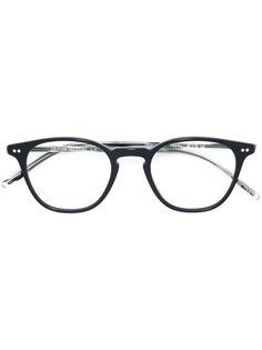 Oliver Peoples очки Hanks в круглой оправе