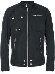 Diesel куртка-бомбер с молниями