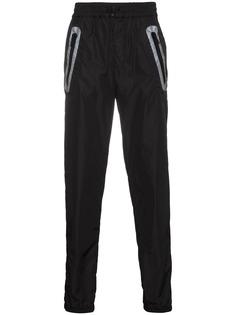 Moncler x Craig Green брюки с контрастной отделкой на карманах