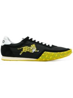 Kenzo кроссовки с вышитым тигром