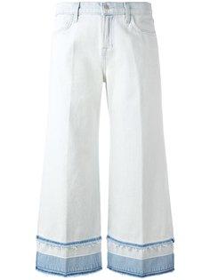 J Brand джинсы-кюлоты Liza средней посадки