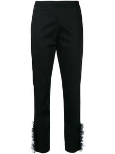 Moschino брюки с оборками