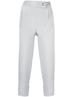 Max & Moi укороченные брюки с люверсами