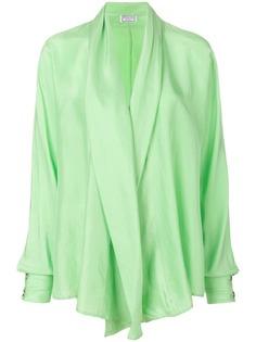 Versus Pre-Owned струящаяся блузка с драпировкой