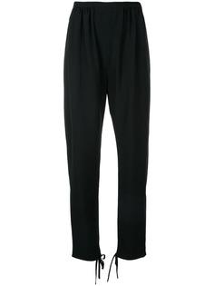 Chloé брюки с завязками на манжетах