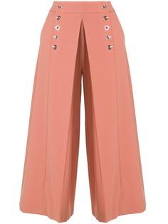 Alexander Wang брюки со складками спереди