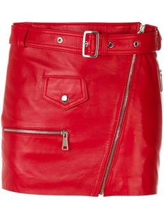 Manokhi короткая юбка с поясом