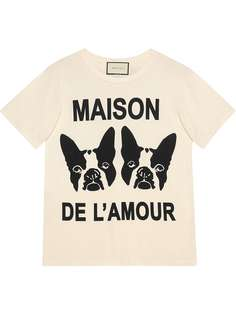 """Gucci футболка """"Maison de lAmour"""""""