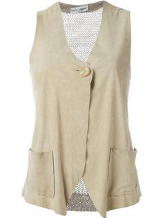 Dolce & Gabbana Pre-Owned жилетка с вязаной вставкой сзади