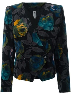 Emanuel Ungaro Pre-Owned пиджак с цветочным принтом